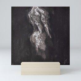 Study in Grey 2 Mini Art Print