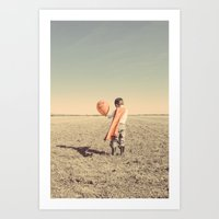 super hero Art Prints featuring Super Hero by short stories gallery