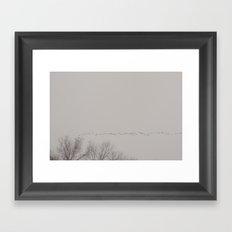 forming ranks Framed Art Print