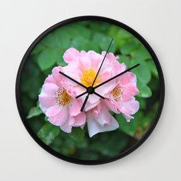 Flower Power 3 Wall Clock