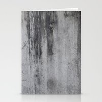 concrete Stationery Cards featuring Concrete by Shamgar