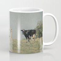 cows Mugs featuring Moo Cows by Pure Nature Photos