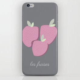 Le Fraises iPhone Skin