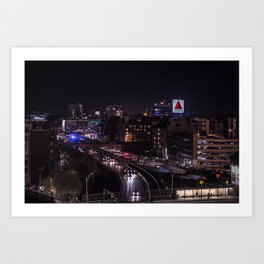 Boston Views Art Print
