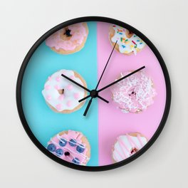 donuts #society6 #buyart #homedecor Wall Clock
