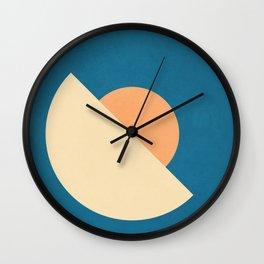 Roud Flow No. 2 Wall Clock