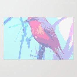 BIRD CARDENAL PASTEL Rug