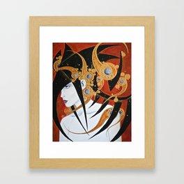 Headstrong Framed Art Print