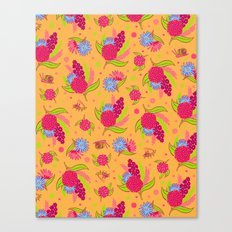 Picnic Pals bouquet in strawberry Canvas Print