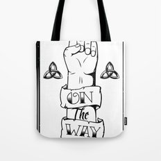 One/On The Way Tote Bag