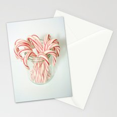 Candy Cane Delight Stationery Cards