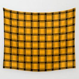Orange Weave Wall Tapestry
