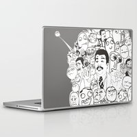meme Laptop & iPad Skins featuring Meme P&B by neicosta