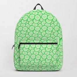 Cucumber patterned Backpack