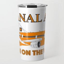 Anal Air Travel Mug