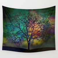 celestial Wall Tapestries featuring Celestial Phenomenon by Klara Acel