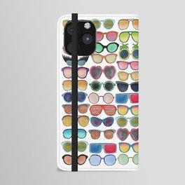 Sunglasses by Veronique de Jong iPhone Wallet Case