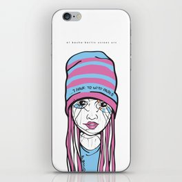 El Bocho · Berlin Street Art iPhone Skin