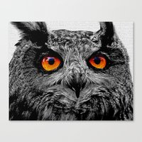 anaconda Canvas Prints featuring YOU'RE THE ORANGE OF MY EYES by Catspaws