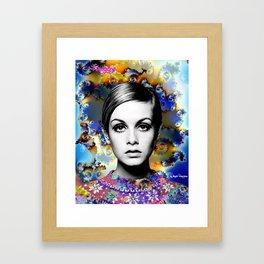 Twiggy Mix. Framed Art Print