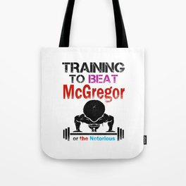 Training to beat the notorious Tote Bag