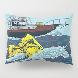 Jaws: Orca Illustration Pillow Sham