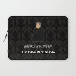 A Scandal in Belgravia - Greg Lestrade Laptop Sleeve