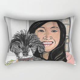 Mel & Andra Rectangular Pillow