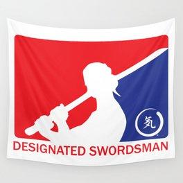 Designated Swordsman Wall Tapestry