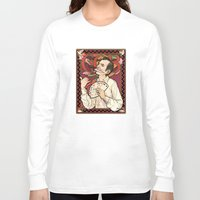 nouveau Long Sleeve T-shirts featuring GOB Nouveau by castlepöp