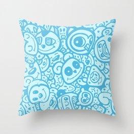 #MoleskineDaily_09 Throw Pillow