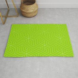 Sheen green - green - Modern Vector Seamless Pattern Rug
