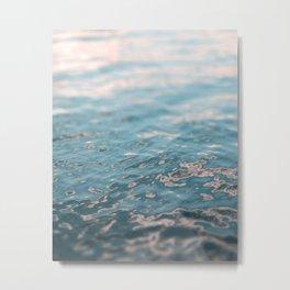 Sunset Water Metal Print