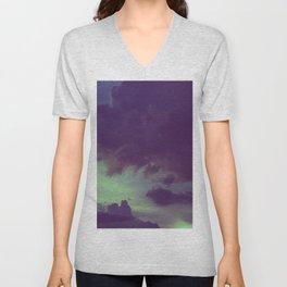 Dark Overcast Unisex V-Neck