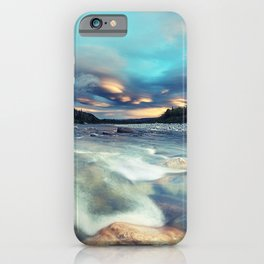 Lenticular Riverscape iPhone Case