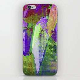 abstract nature // lake district iPhone Skin