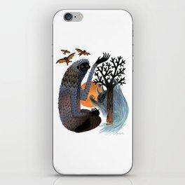 Big Foot's Demons iPhone Skin