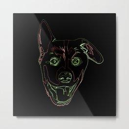 Welsh Corgi Puppy Metal Print