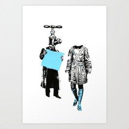 GOOD SIR Art Print