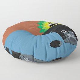 BP Oil Attack Floor Pillow