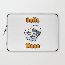 Hella Ween Halloween Ghost Laptop Sleeve