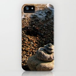 Pebble Beach iPhone Case