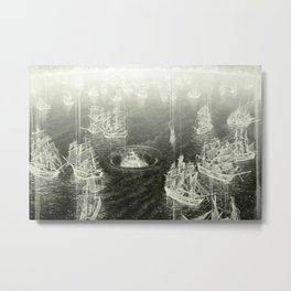 """Fog Bank"" Metal Print"