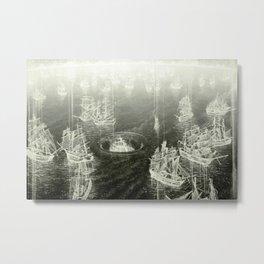 """Fog Bank"" Metal Print"