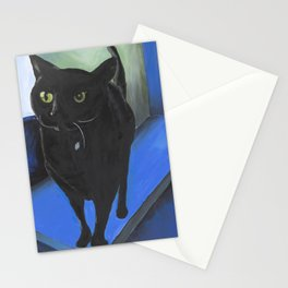 A Cat Named Clarice Looks at You Stationery Cards