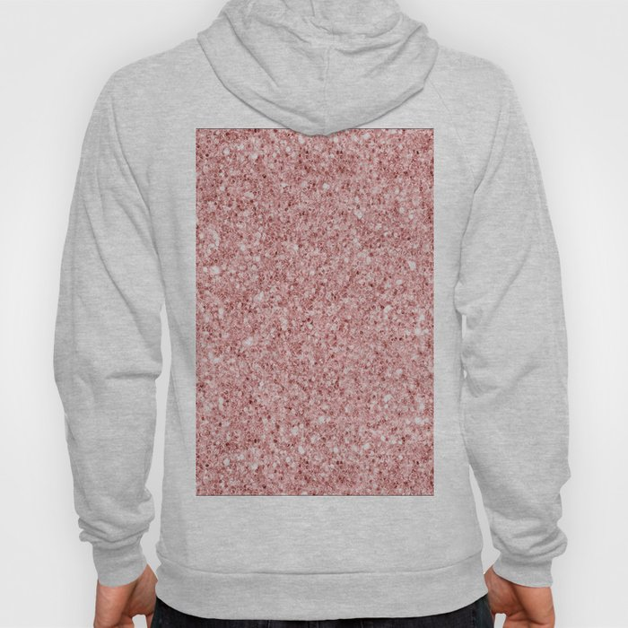 A Touch of Pink Glitter Hoody