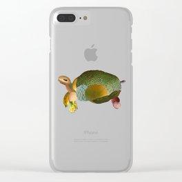 Fruit Sulcata Clear iPhone Case