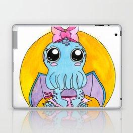 Girl Cute-thulu Laptop & iPad Skin