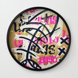 Fishbone Wall Clock