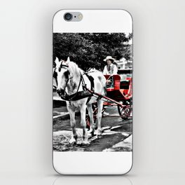 Mystic Carriage Ride Photography iPhone Skin